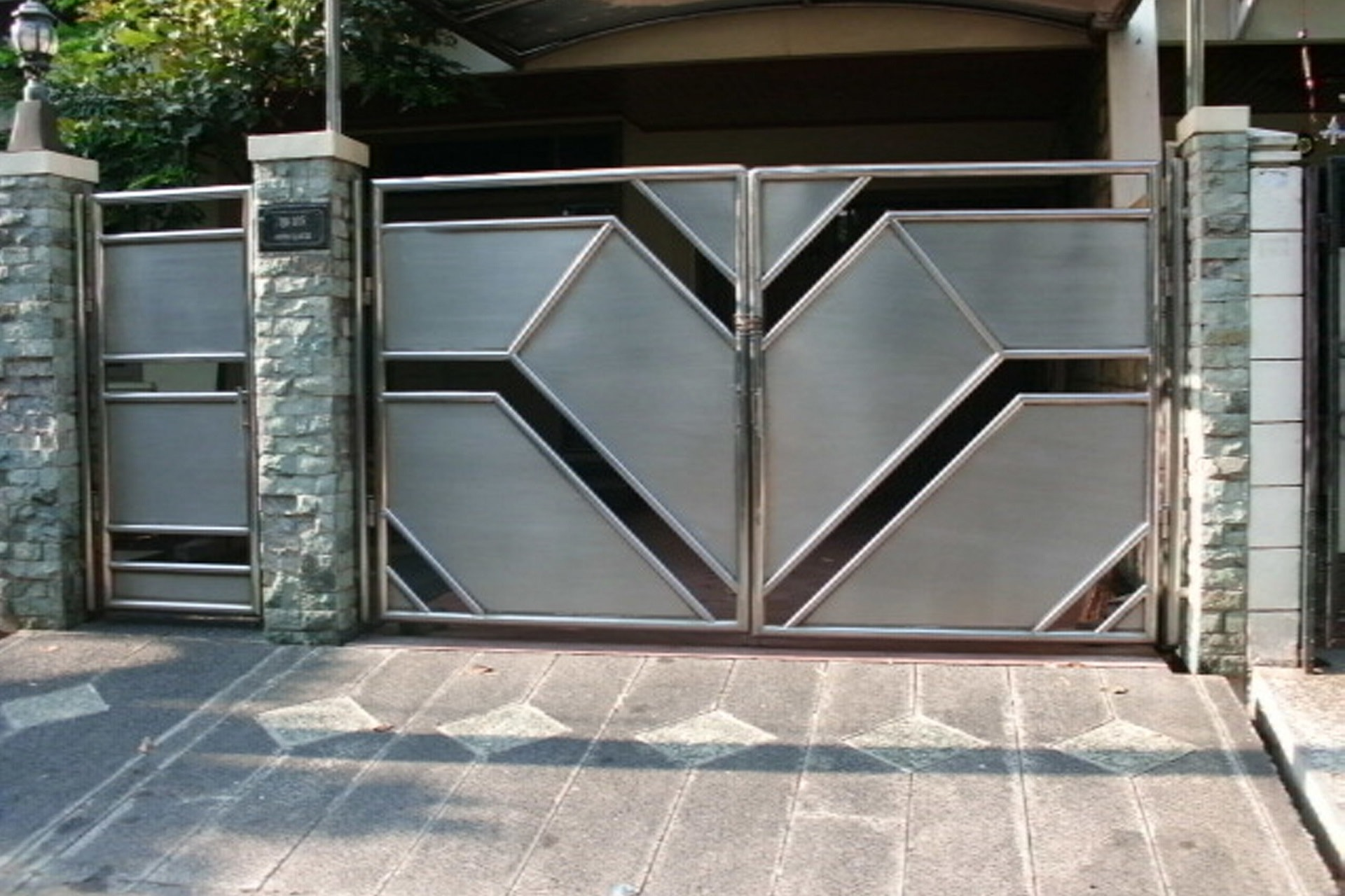 Pintu Stainless 4 - PS04 - pintu-stainless-solo